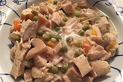 Hühnerfrikassee Grundrezept