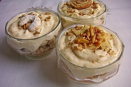 Cremiger Vanillequark mit Apfelkompott 4