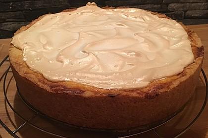 Vanille - Käse - Kuchen mit Pfirsichen 1