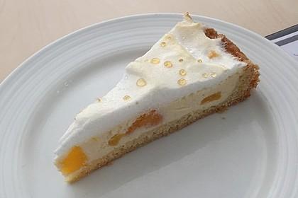 Vanille - Käse - Kuchen mit Pfirsichen 3