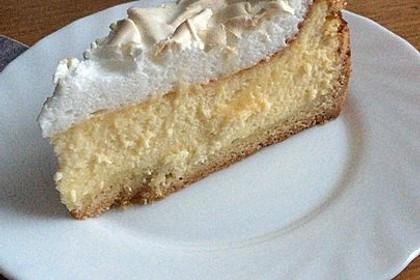 Vanille - Käse - Kuchen mit Pfirsichen 4