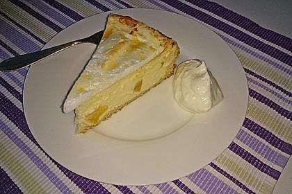 Vanille - Käse - Kuchen mit Pfirsichen 13