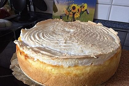 Vanille - Käse - Kuchen mit Pfirsichen 11