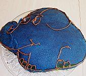 Lettas kleine blaue Elefant  - Motivtorte (Bild)