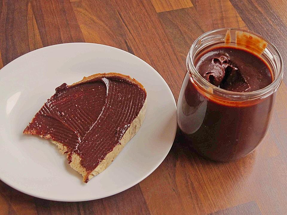 Nuss Schokoladen Aufstrich Aus Dem Thermomix Von Schnuggele