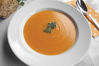 Pastinaken - Kürbis - Suppe 2