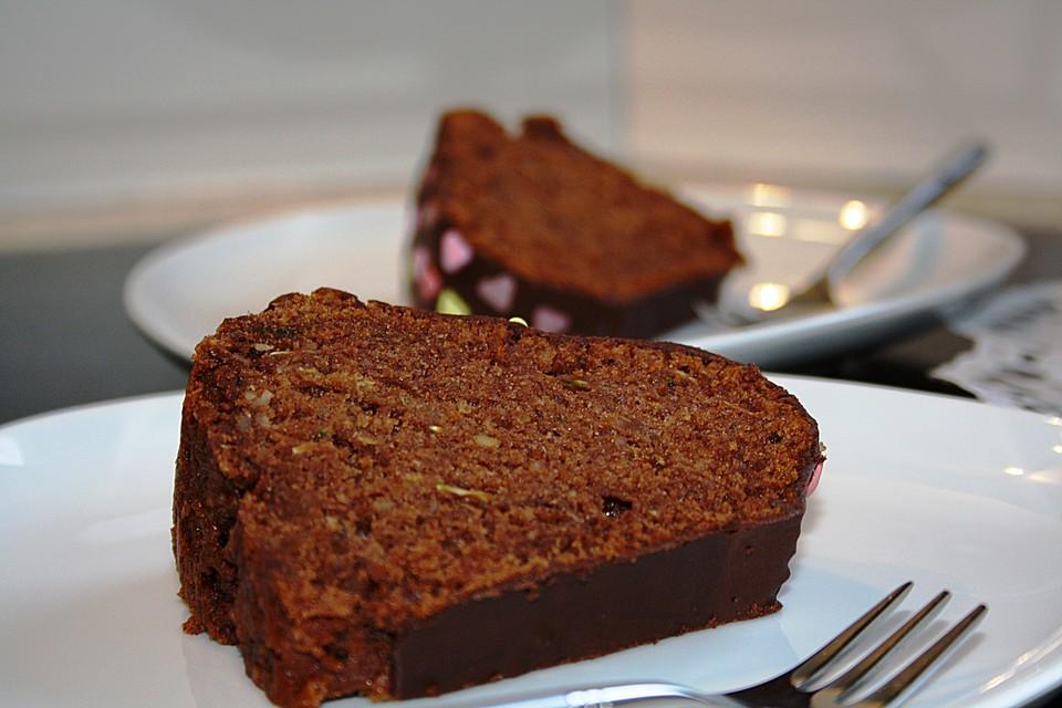 Schoko Zucchini Kuchen Von Bwestner Chefkoch De