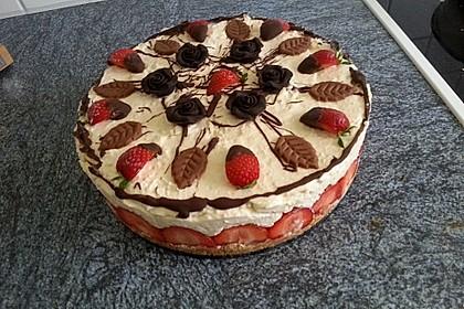 Baileys - Mousse - Himbeer - Cheesecake (ohne backen) 12