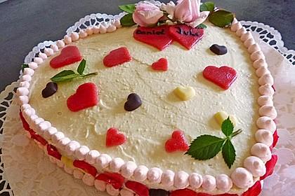 Baileys - Mousse - Himbeer - Cheesecake (ohne backen) 14