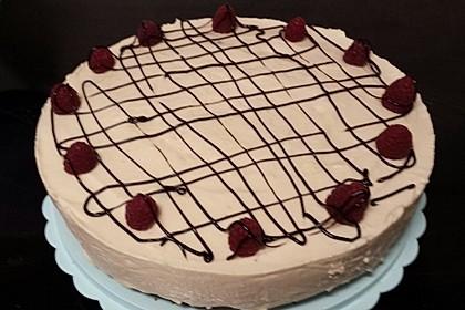 Baileys - Mousse - Himbeer - Cheesecake (ohne backen) 10