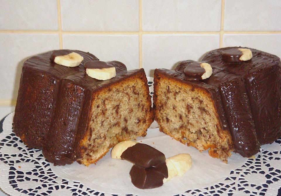 Bananenkuchen Mit Schokoladenstuckchen Von Rkangaroo Chefkoch De