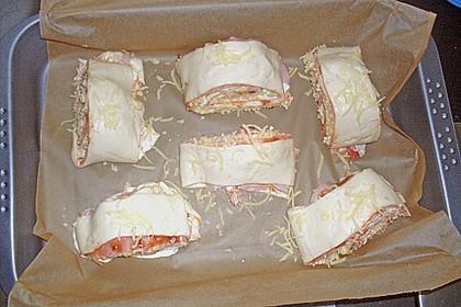 Mini - Pizzaschnecken 44