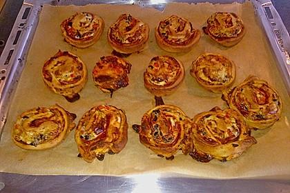 Mini - Pizzaschnecken 37