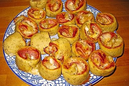 Mini - Pizzaschnecken 17