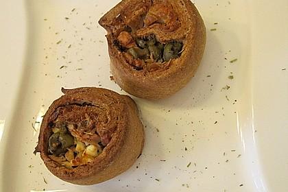 Mini - Pizzaschnecken 50