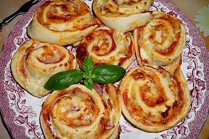 Mini - Pizzaschnecken 18