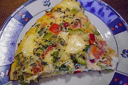 1 A Omelette mediterran