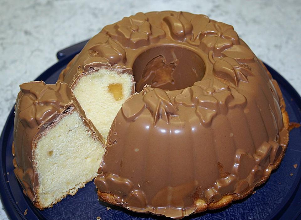 Orangenkuchen Mit Schokoglasur Von Tinchen3012 Chefkoch De