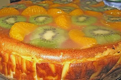 Obst - Quark - Torte 1