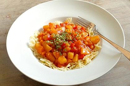 Paprika - Gemüse- Gulasch 7