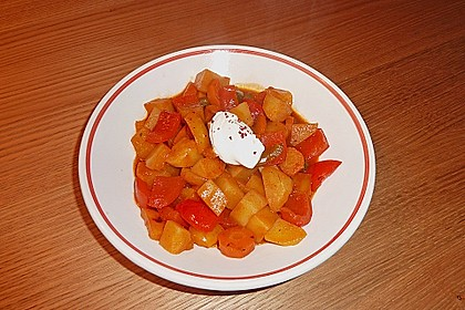 Paprika - Gemüse- Gulasch 6