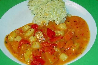 Paprika - Gemüse- Gulasch 4