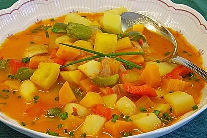 Paprika - Gemüse- Gulasch 1