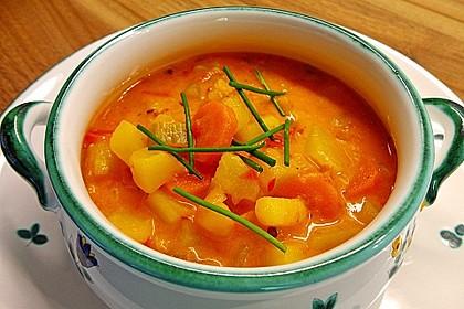 Paprika - Gemüse- Gulasch