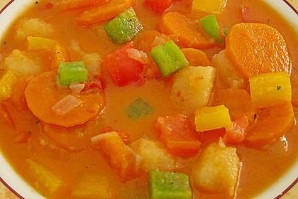 Paprika - Gemüse- Gulasch 3