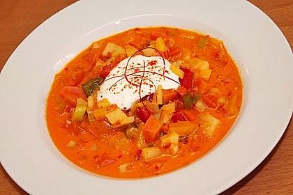 Paprika - Gemüse- Gulasch 2