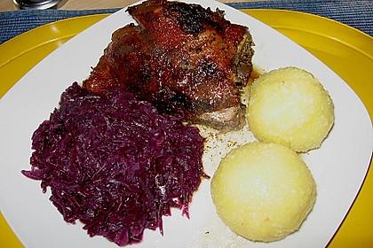 Bayerischer Entenbraten 7