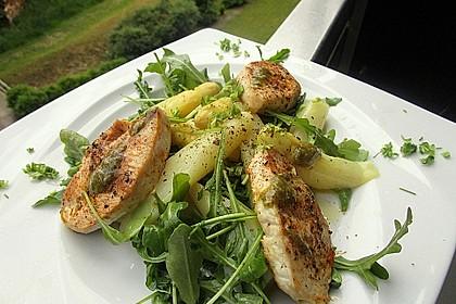 Spargel - Puten - Salat