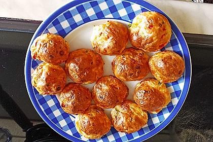 Erbsensuppe mit Käsebällchen 10