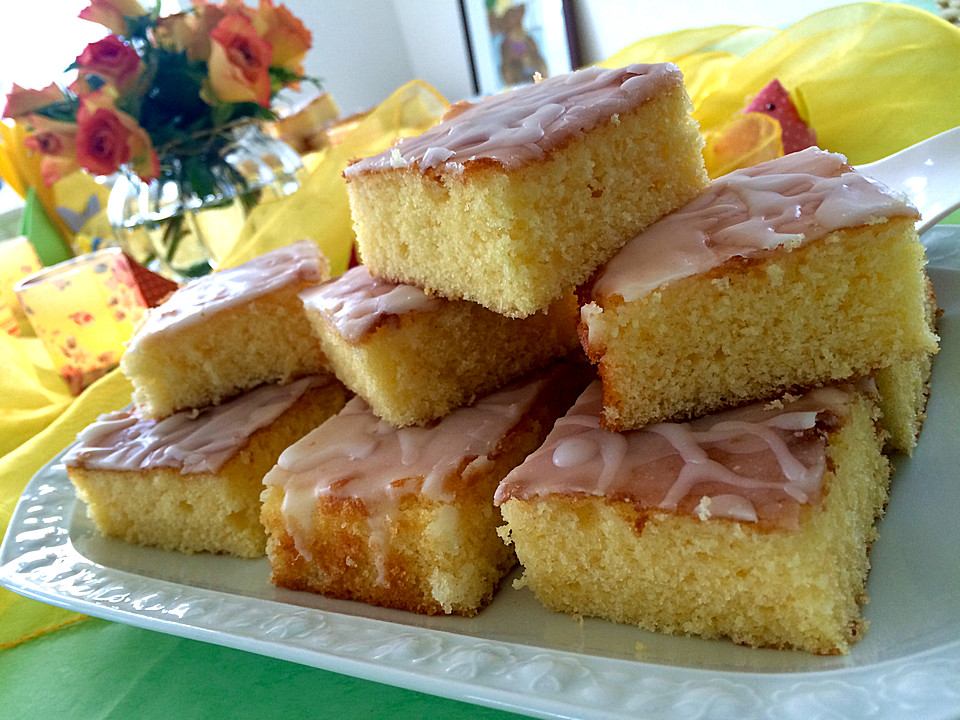 Zitronenkuchen Vom Blech Von Cremehase Chefkoch De