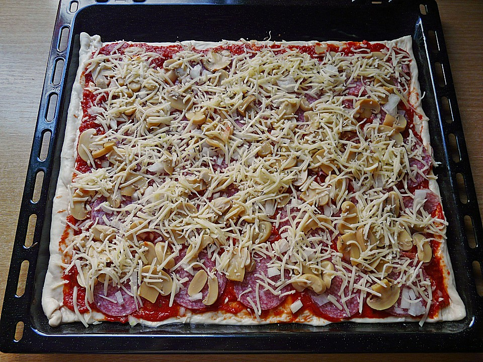 Pizza Hefeteig Von Schoko Cup Chefkoch