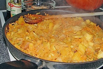 Möhren - Kürbissuppe 1
