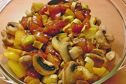 Paprika - Feta - Hähnchen 3