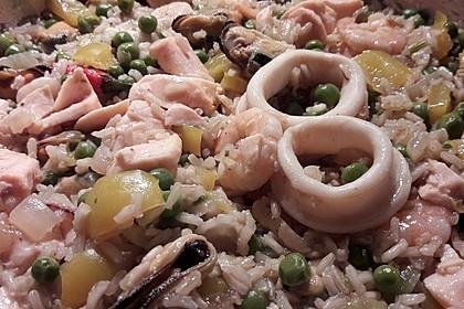Paella de marisco 3