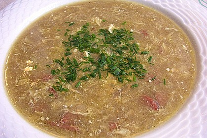 Zwiebelsuppe au Roquefort 3
