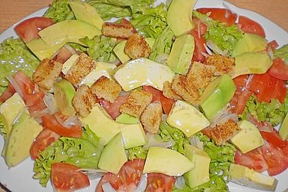Sommertraum - Avocado - Brot - Salat 1
