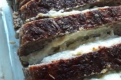 Knoblauch - Schafskäse - Brot mit Kräutern
