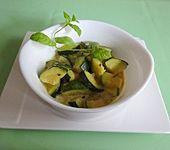 Zucchinigemüse in Curry - Kokos (Bild)