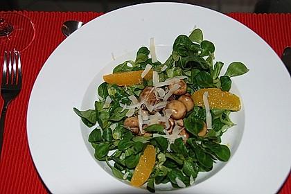 Salat mit Honigchampignons 20