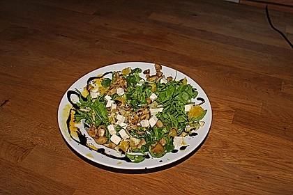 Salat mit Honigchampignons 64
