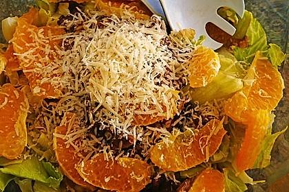 Salat mit Honigchampignons 38