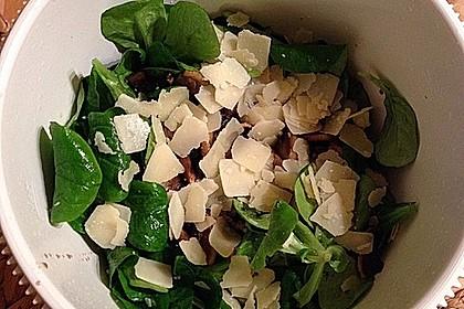 Salat mit Honigchampignons 66