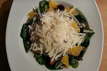 Salat mit Honigchampignons 53