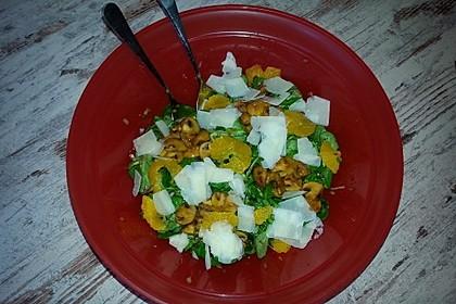 Salat mit Honigchampignons 35