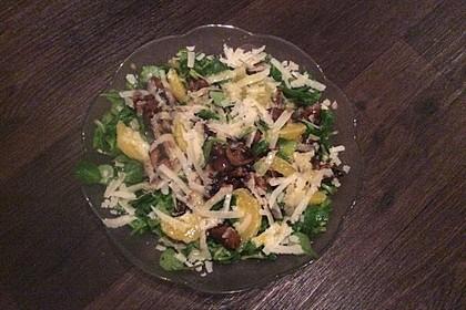 Salat mit Honigchampignons 70
