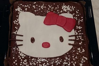 Schokoladen-Blechkuchen 2